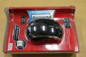 Wireless Mobile Mouse 6000エネループ付